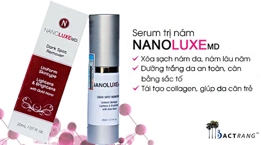 Serum trị nám Nanoluxe MD - Xóa sach nám chỉ trong 3 tuần