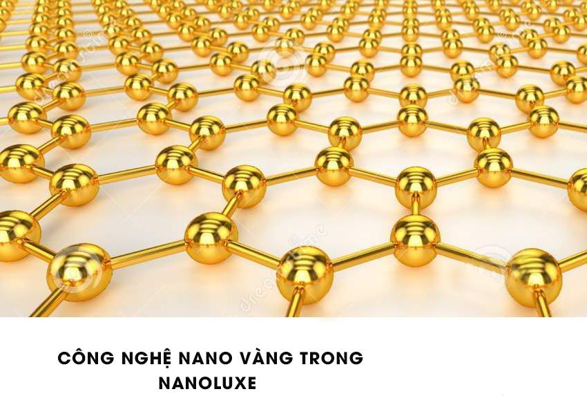 Công nghệ nano vàng trong Nanoluxe