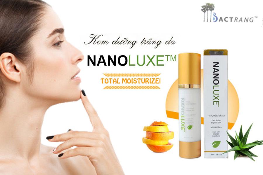 Kem dưỡng trắng da Nanoluxe Total Moiturizer