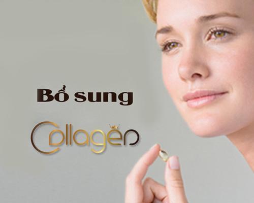 bổ sung collagen bằng viên uống Age No More