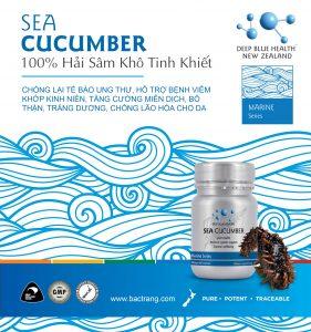 Viên uống hải sâm Deep Blue Health Sea Cucumber 3