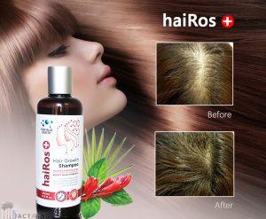 Dầu gội mọc tóc Deep Blue Health haiRos+ Shampoo
